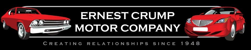 Ernest Crump Motor Company. (205) 221-6290
