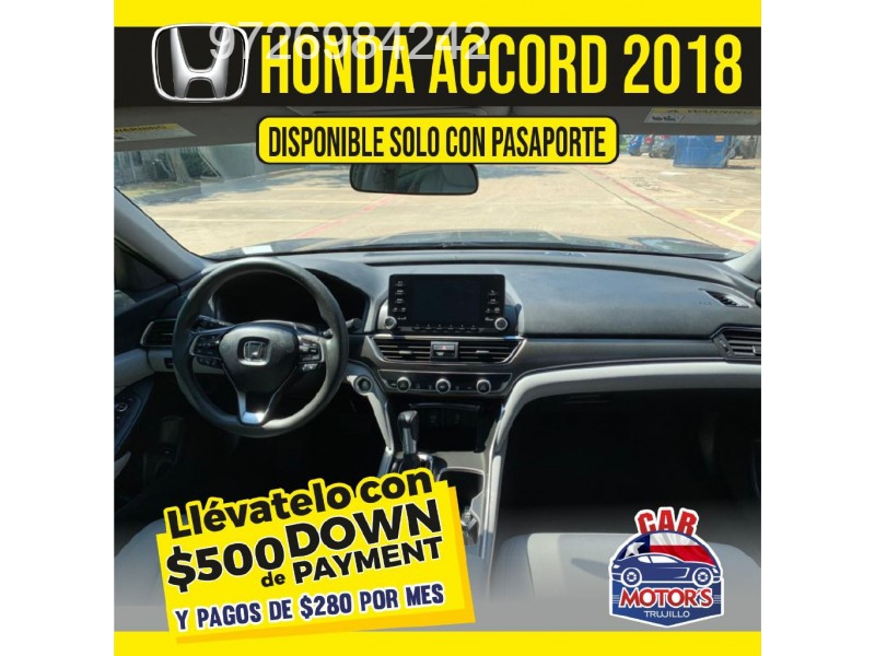 Honda ACCORD 2018 price $500 Down