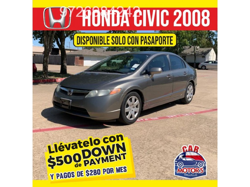 Honda CIVIC 2008 price $500 Down