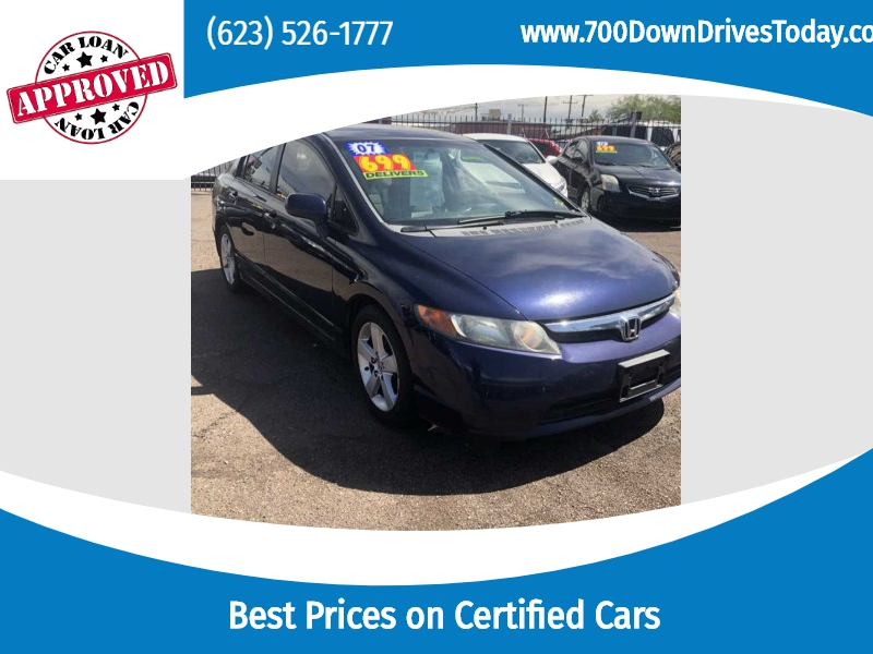 Honda Civic Sdn 2007 price $7,250
