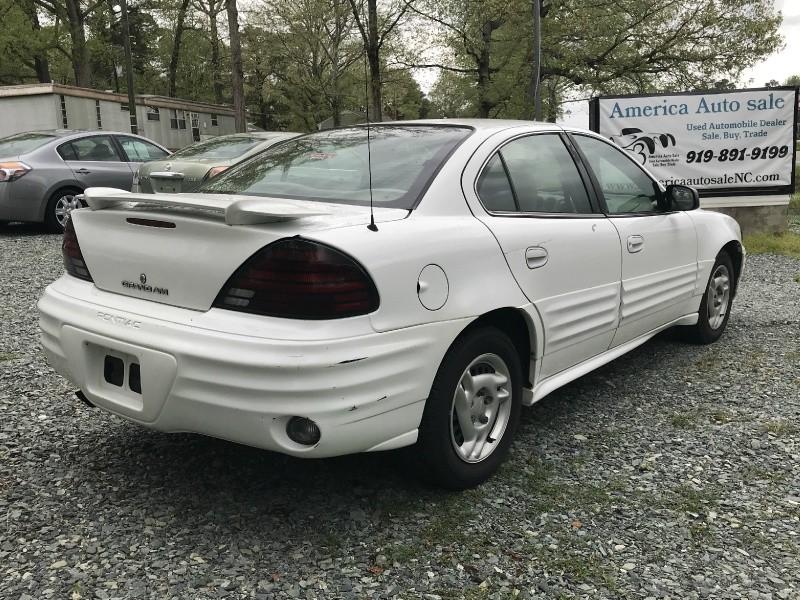 Pontiac Grand Am 2002 price $1,999 Cash