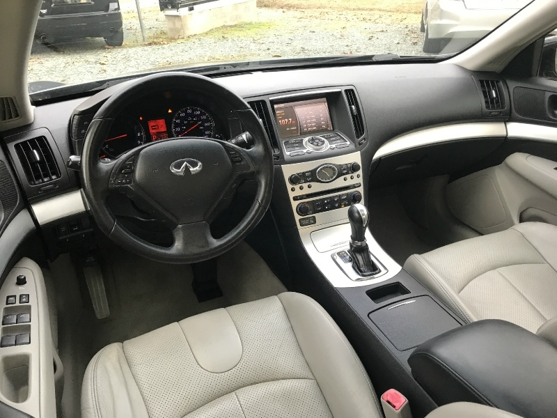Infiniti G37 Sedan 2009 price $5,850 Cash