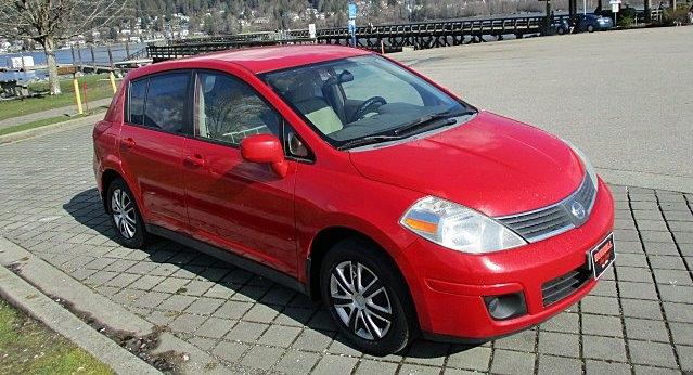 Nissan Versa 2007 price $2,500