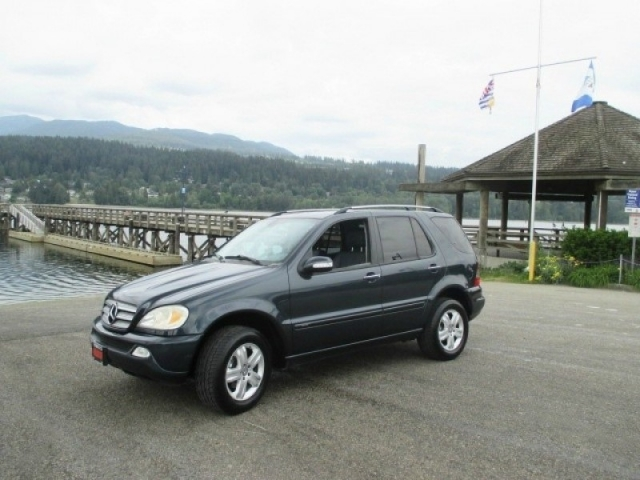 2005 mercedes benz ml 350 4matic 3 7l special edition for Mercedes benz 2003 ml350