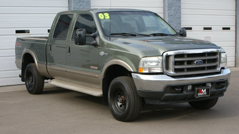Ford Super Duty F-250 2003 price $9,500