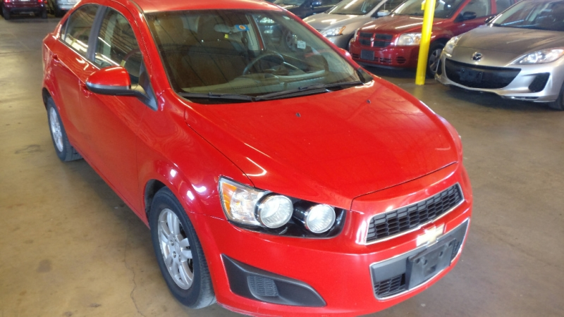 Chevrolet Sonic 2013 price $3,495 Cash