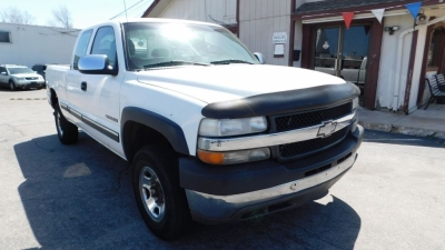 2001 CHEVROLET SILVERADO 2500 HEAVY DUTY