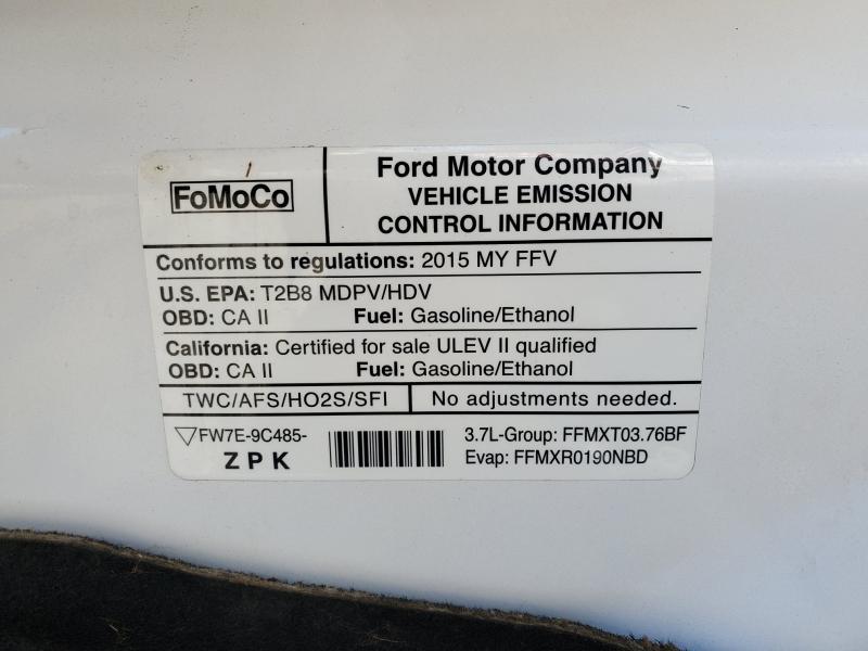Ford Transit Cargo Van 2015 price $19,975
