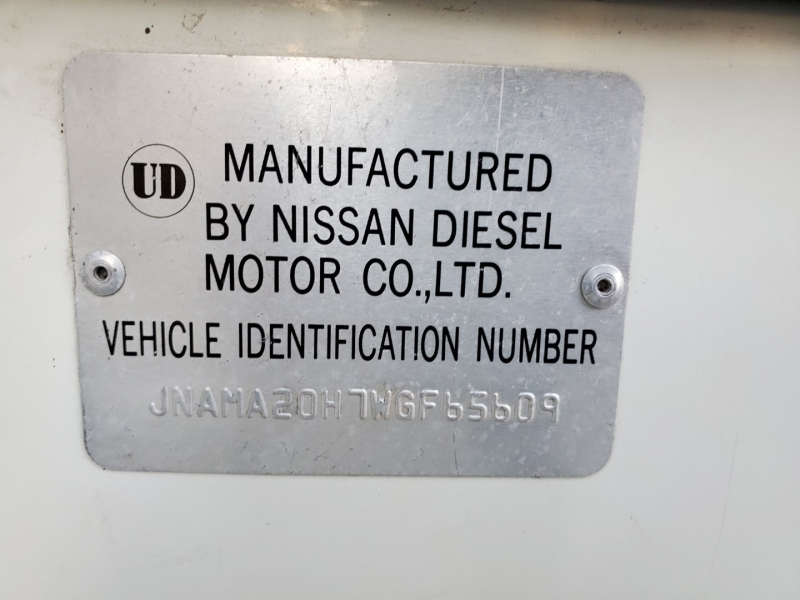 Nissan UD1800 1998 price $14,975