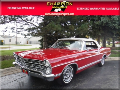 1967 Ford Galaxie 500 Convertible 390cu V8