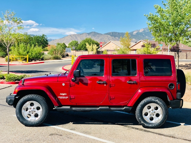 Jeep Wrangler Unlimited 2013 price $20,750