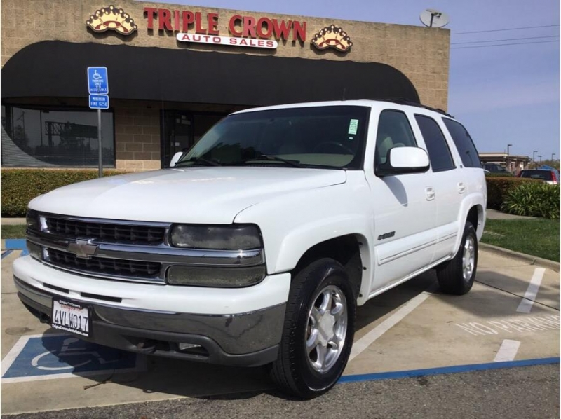 Chevrolet Tahoe 2002 price $4,995