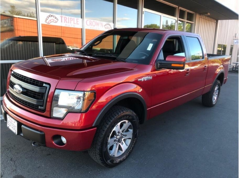 Ford F150 SuperCrew Cab 2013 price $15,995