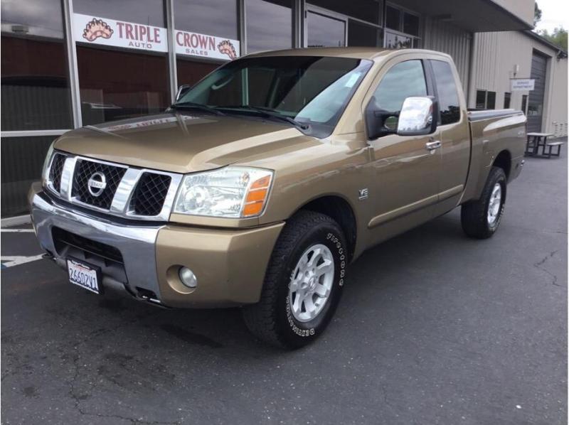 Nissan Titan King Cab 2004 price $9,995