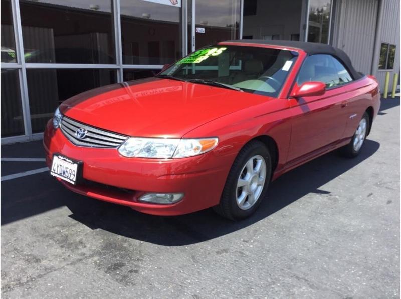 Toyota Solara 2002 price $5,995