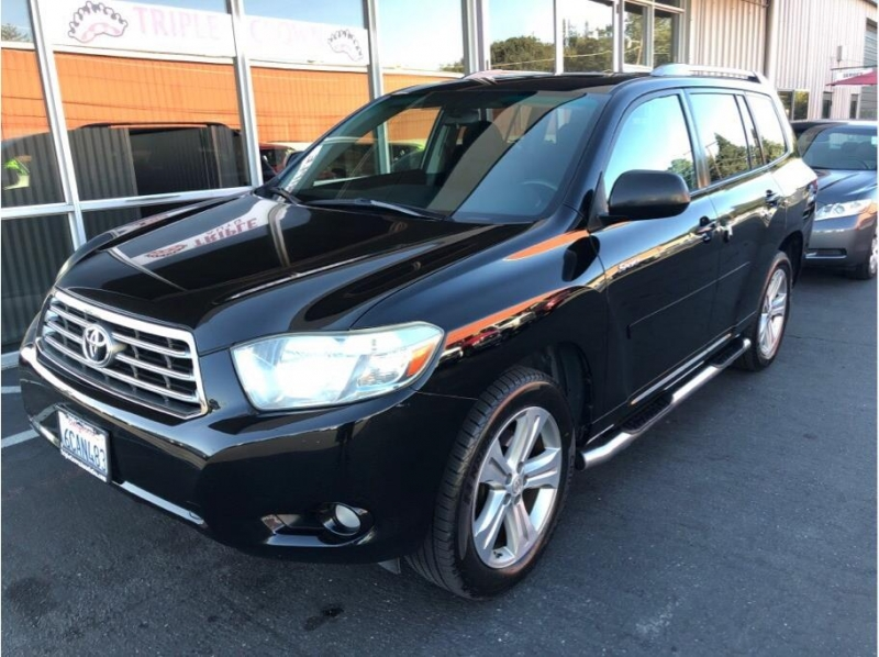 2008 Toyota Highlander For Sale >> 2008 Toyota Highlander Sport Suv 4d