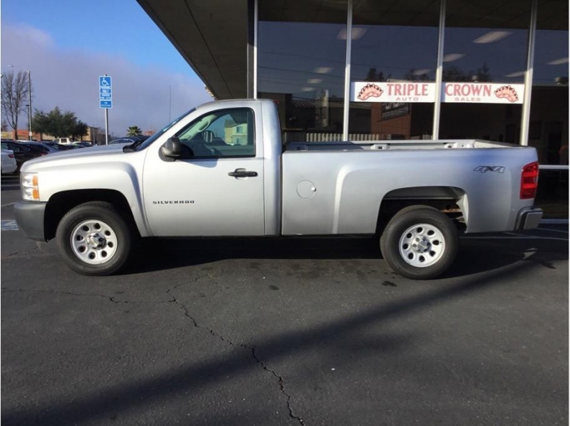 Chevrolet Silverado 1500 Regular Cab 2012 price $17,995