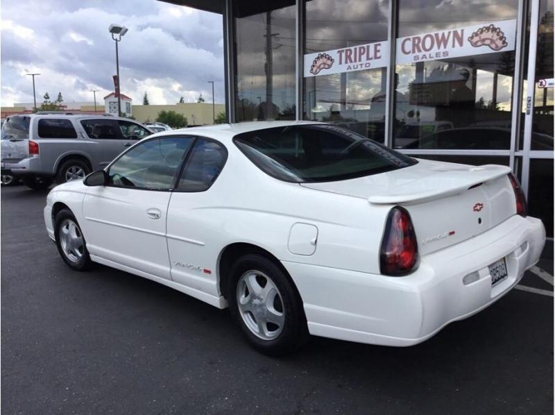 Chevrolet Monte Carlo 2001 price $3,995