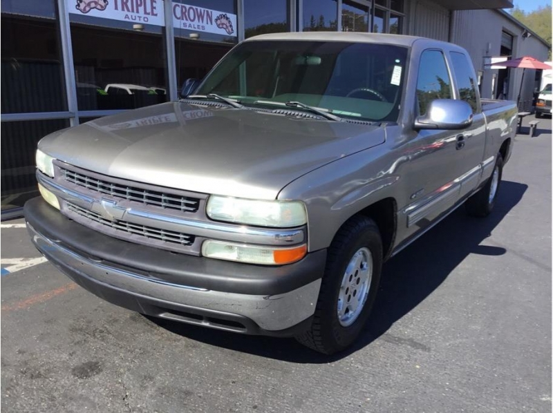 Chevrolet Silverado 1500 Extended Cab 2002 price $6,495