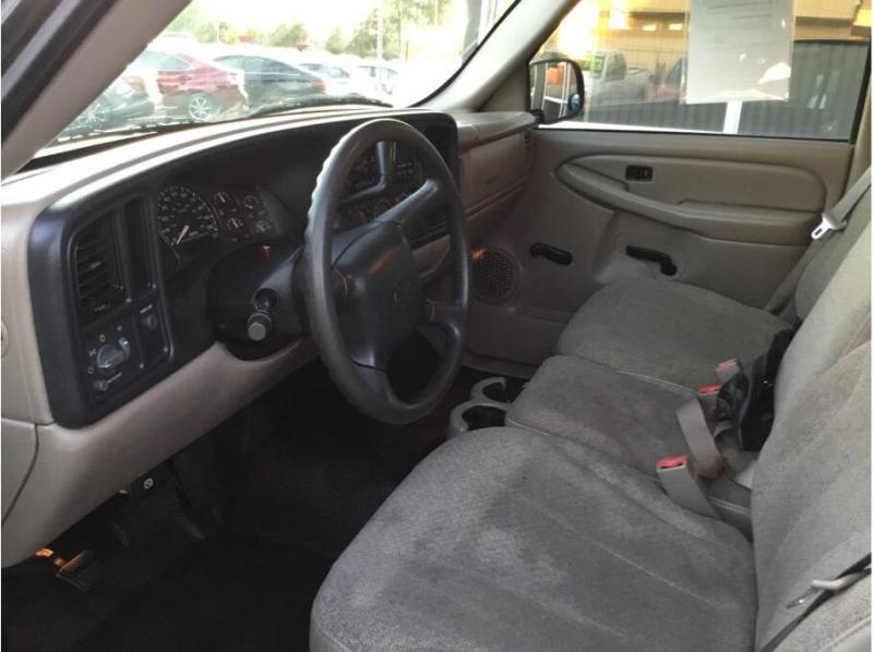 Chevrolet Silverado 1500 Regular Cab 2002 price $5,495