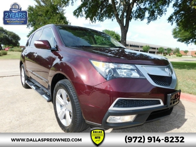 Acura MDX AWD Dr Technology Pkg NAVIGATION BACKUP CAM RD - Acura special financing