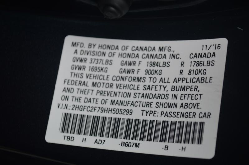 Honda Civic Sedan 2017 price $15,995