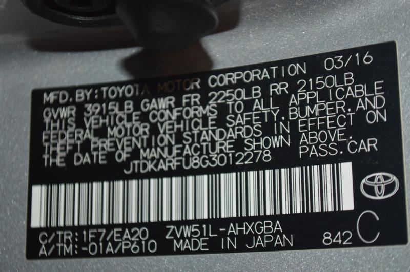 Toyota Prius 2016 price $15,095