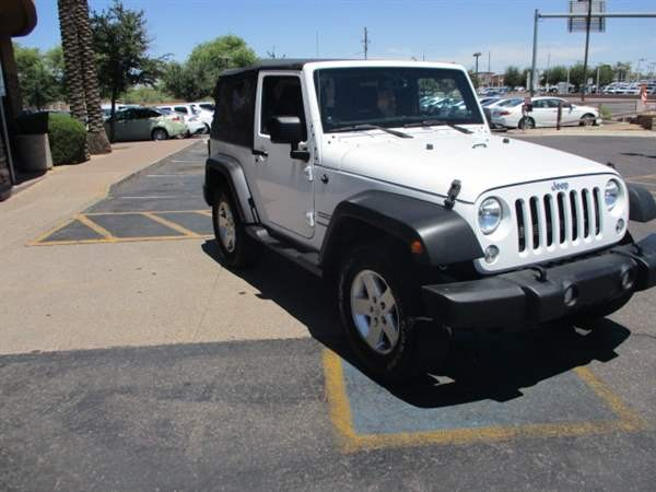 Jeep Wrangler 2014 price $2,999 Down