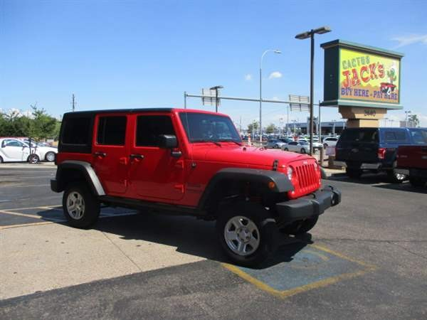 Jeep Wrangler Unlimited 2016 price $3,999 Down