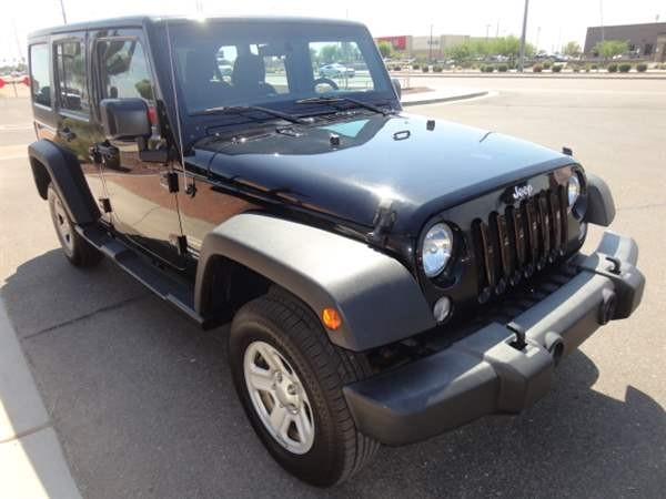 Jeep Wrangler Unlimited 2015 price $3,499 Down