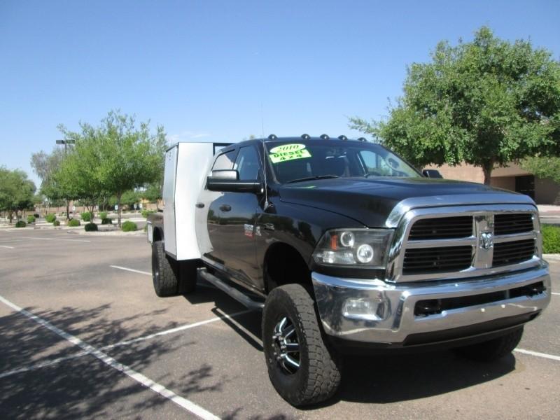 2010 dodge ram 3500 4wd crew cab slt 6 7l diesel flatbed. Black Bedroom Furniture Sets. Home Design Ideas