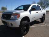 Nissan Titan 5.6L V8 Lifted/Wheels/Tires 2014