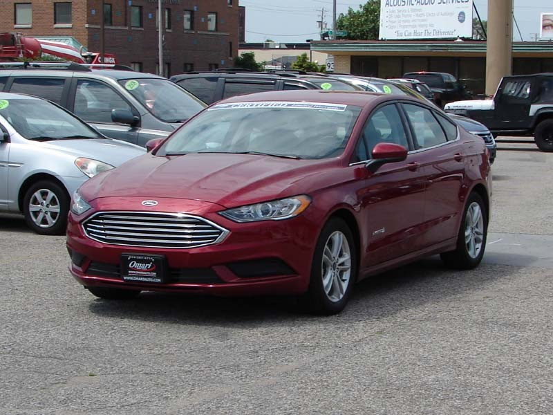 Ford Fusion Hybrid 2018 price $17,800