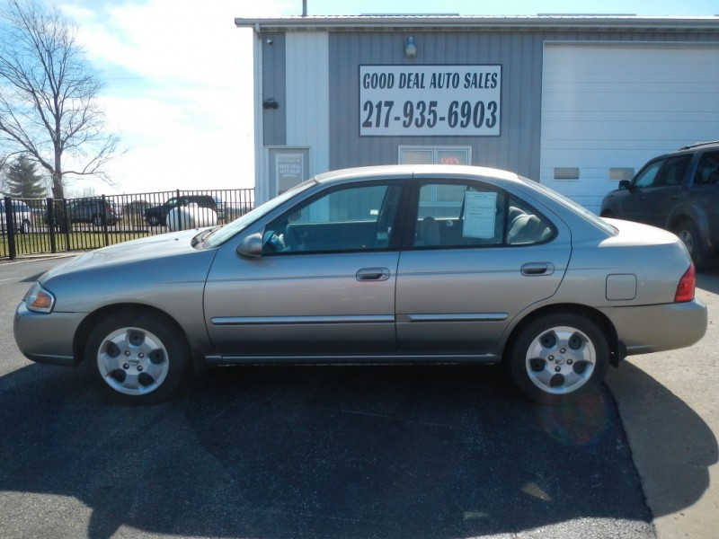 2004 Nissan Sentra 4dr Sdn 18 S Auto Ulev Inventory Good Deal