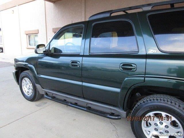 Chevrolet Tahoe 2002 price $4,695