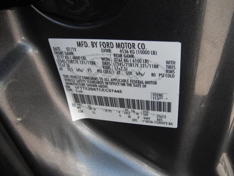 Ford F-250 Super Duty 2012 price $13,495