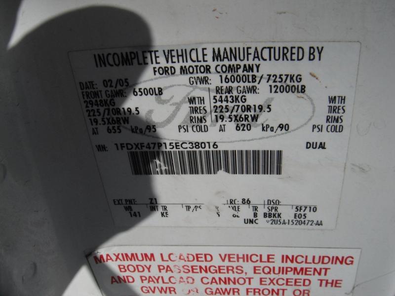 Ford F-450 Super Duty 2005 price $7,995