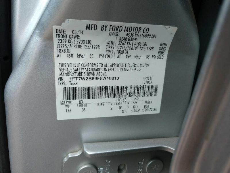 Ford F-250 Super Duty 2015 price $25,500