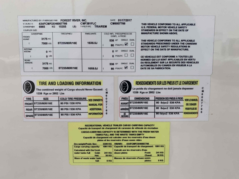 FRRV COLUMBUS 2017 price $34,995