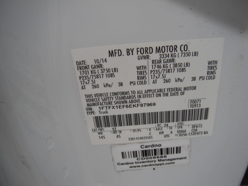 Ford F-150 2014 price $13,900