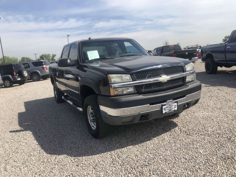 Chevrolet Silverado 2500HD 2004 price $11,995
