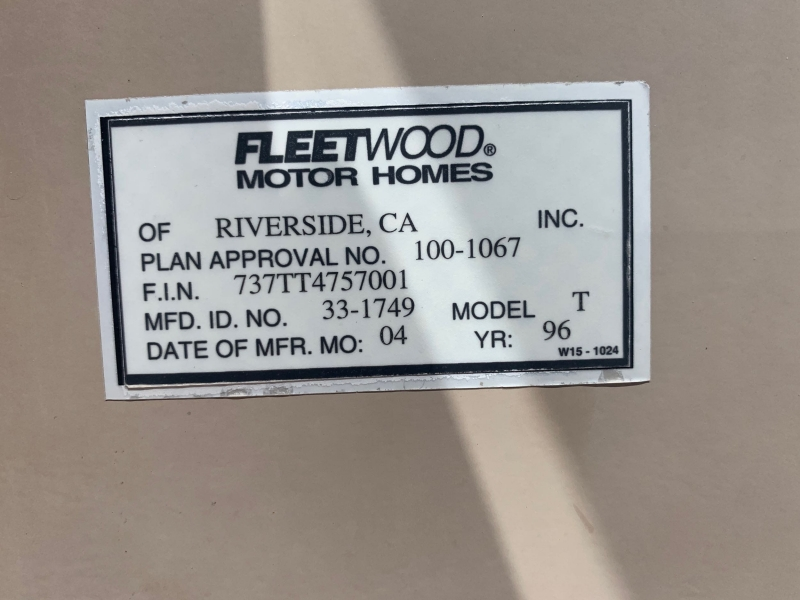 FTWD BOUNDER 1997 price $12,995