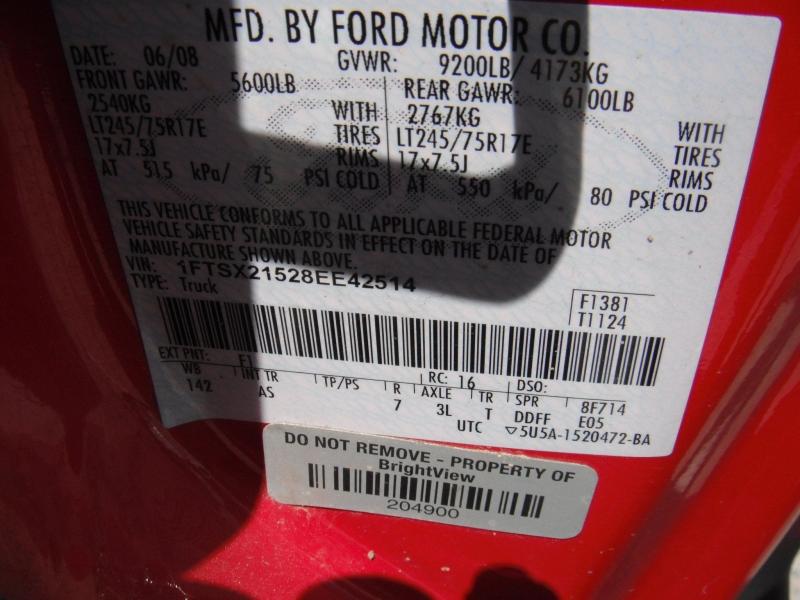 Ford F-250 Super Duty 2008 price $8,900