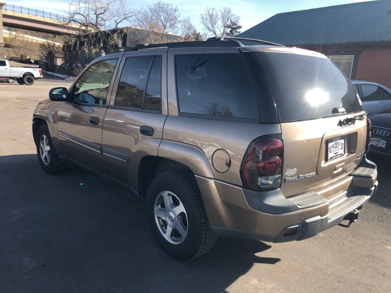 Chevrolet TrailBlazer 2002 price $5,995