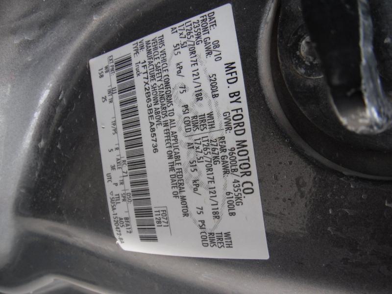 Ford F-250 Super Duty 2011 price $8,995