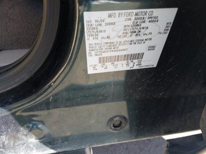 Ford F-250 Super Duty 2004 price $11,995