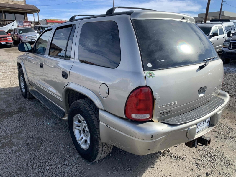 Dodge Durango 2002 price $2,995