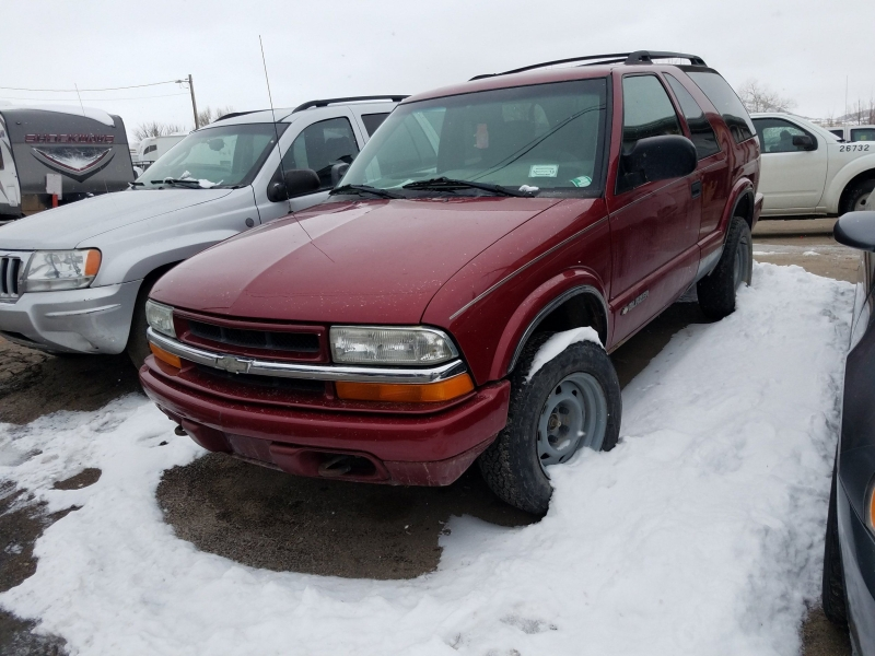 Chevrolet Blazer 2002 price $1,200