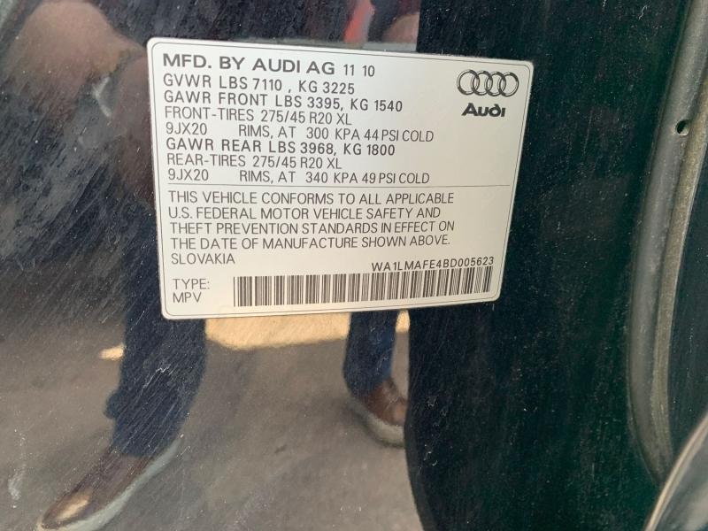 Audi Q7 2011 price $21,900
