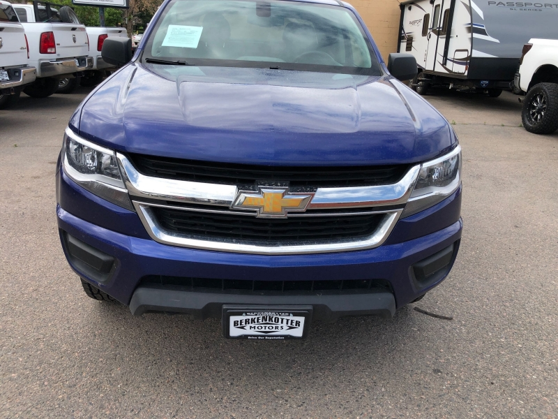 Chevrolet Colorado 2016 price $18,900